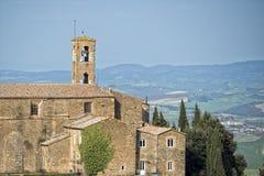 Tuscany hills landscape Stock Images