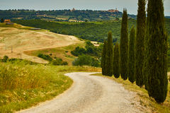 Tuscany hills. Summmer eurpope holiday Stock Photo