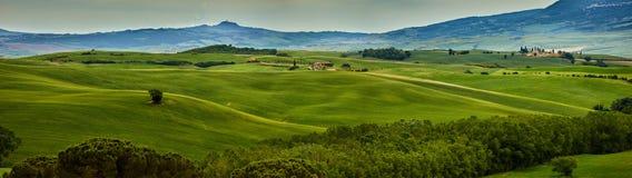 Tuscany hills. Summmer eurpope holiday Royalty Free Stock Photo