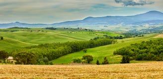 Tuscany hills. Summmer eurpope holiday Royalty Free Stock Image