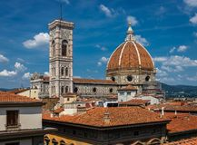 Tuscany horisont arkivfoto