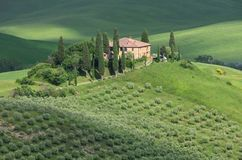 Tuscany house Royalty Free Stock Images