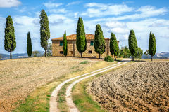 Tuscany House Royalty Free Stock Photography