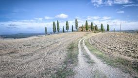 Tuscany House Stock Photography