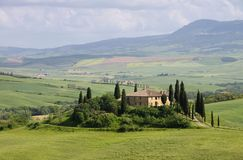 Tuscany house Stock Photography