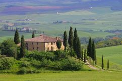 Tuscany house Stock Photo