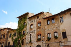 Tuscany houses Stock Image