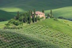 Tuscany hus Royaltyfria Bilder