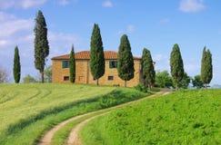 Tuscany hus Royaltyfri Fotografi