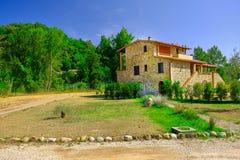 Tuscany hus arkivfoto