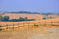 Countryside landscape in Tuscany, Italy Stock Image