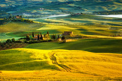 Tuscany - Italy. Landscape in Tuscany in Italy Stock Photo