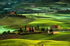 Tuscany - Italy. Landscape in Tuscany in Italy Stock Photography