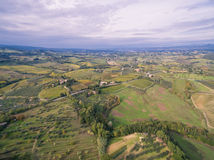 Tuscany, Italy, aerial view Royalty Free Stock Image