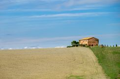 Tuscany, Italy landscape Stock Photo