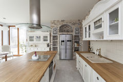 Tuscany - kitchen furniture Stock Photos