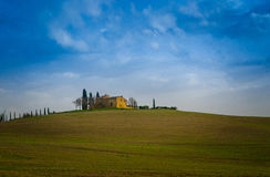 Tuscany. Is known for its landscapes, traditions, history, artistic legacy and its influence on high culture. It is regarded as the birthplace of the Stock Images