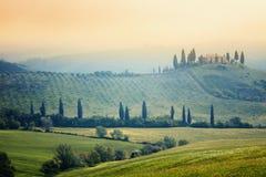Tuscany krajobraz obraz stock
