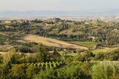 Tuscany krajobraz Obraz Royalty Free