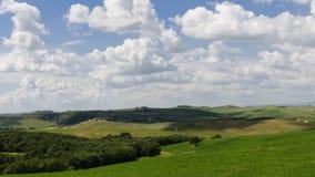 Tuscany krajobraz, Włochy, Europa obrazy stock