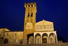 Tuscany kyrka Royaltyfri Foto