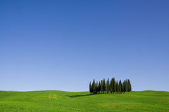 Tuscany landscape Royalty Free Stock Photos
