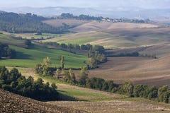 Tuscany Landscape. Tuscany at the autumn - Italy royalty free stock photos
