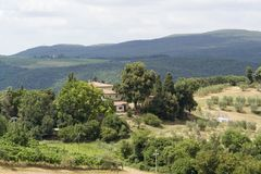 Tuscany landscape Royalty Free Stock Photo