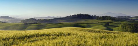 Tuscany landscape. A nice view of italian landscape Royalty Free Stock Photography