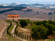 Tuscany landscape Royalty Free Stock Images
