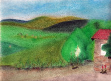 Tuscany landscape. Stock Image