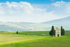 Tuscany landscape stock images