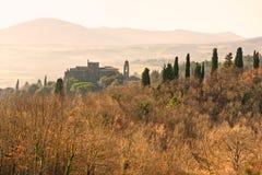 Tuscany landscape, Italy. Stock Photo