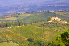 Tuscany landscape - italy Royalty Free Stock Photography