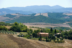 Tuscany landscape in Italy Stock Photography