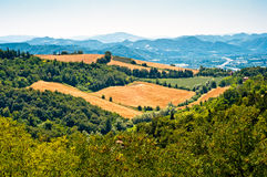 Tuscany landscape Italy Stock Photo