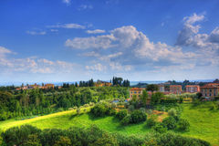 Tuscany landscape, Italy Royalty Free Stock Photos