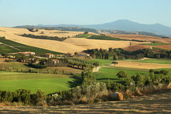 Tuscany landscape. Italy Stock Photo