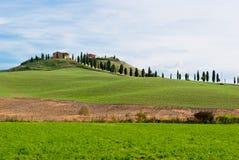 Tuscany landscape near Siena Stock Image