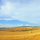 Tuscany landscape panorama Stock Image