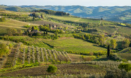 Tuscany Landscape Stock Photos