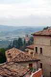 Tuscany landskap royaltyfri fotografi