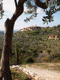 Tuscany landskap royaltyfria foton