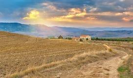 Tuscany liggande fotografering för bildbyråer
