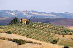 Tuscany mansion Stock Image