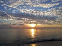 Tuscany Maremma, Grosseto, Castiglione della Pescaia, sunset panoramic photos on the sea. Maremma, Grosseto, Castiglione della Pescaia, sunset panoramic photos stock photo