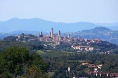 Tuscany miasteczko Fotografia Royalty Free