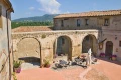 Tuscany miasto obrazy royalty free