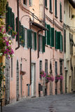 Tuscany. Morning in the Tuscan town Royalty Free Stock Images