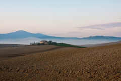 Tuscany near pienza Stock Photography